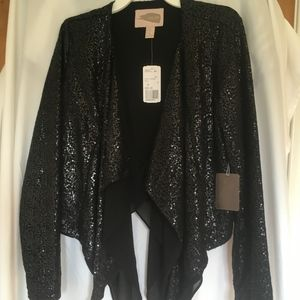 Sequin blazer / jacket NWT xs